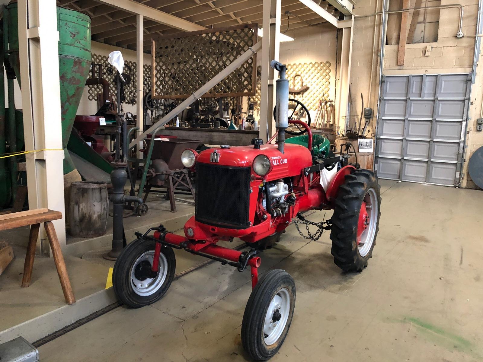 International Harvertor Tractor
