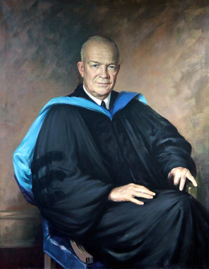 Portrait of Dwight D. Eisenhower