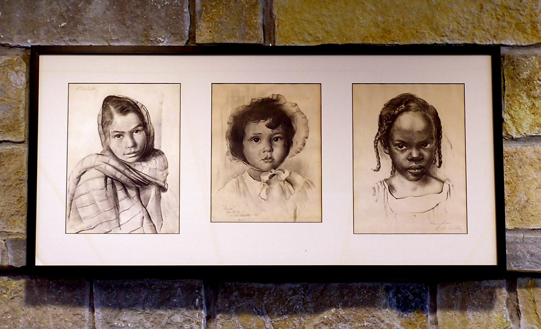 Three Lithographs: Juanita, Donna Lee, Emmy Lou