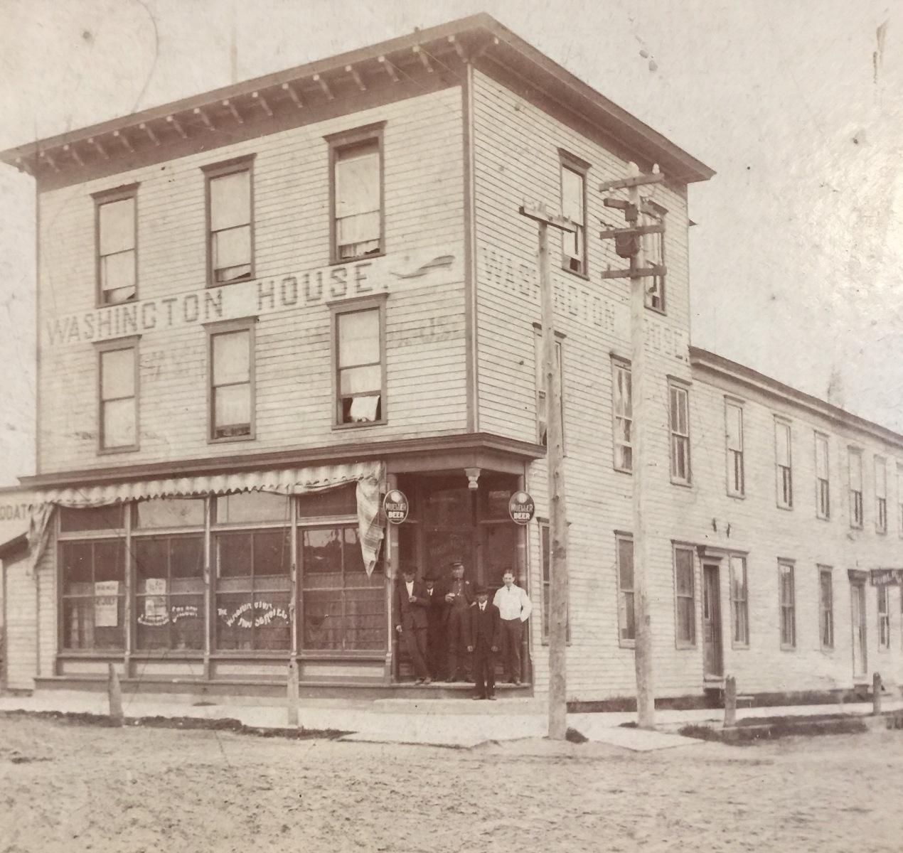 Old Photo of Washington House